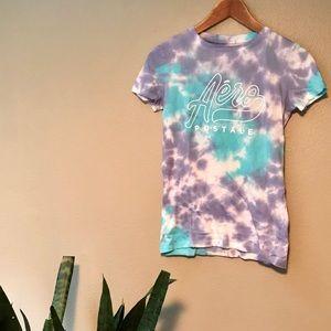 NWOT Aeropostale Tie-dye T-shirt Size Small ☮️